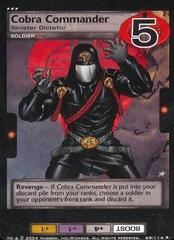 Cobra Commander, Sinister Dictator
