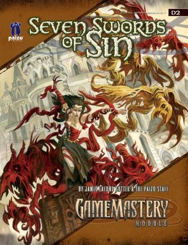 GameMastery Module D2: Seven Swords of Sin