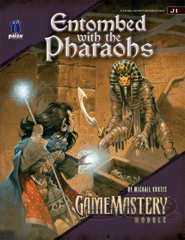 GameMastery Module J1: Entombed with the Pharaohs - RPGs