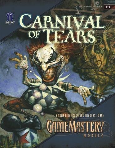 GameMastery Module E1: Carnival of Tears - RPGs » Pathfinder