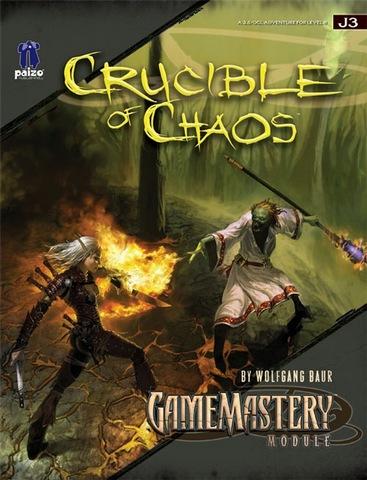 Gamemastery Module J3 Crucible Of Chaos Rpg Roleplaying
