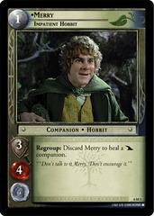 Merry, Impatient Hobbit - Oversized