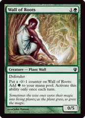 Wall of Roots on Channel Fireball