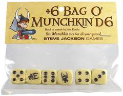 +6 Bag O' Munchkin Dice
