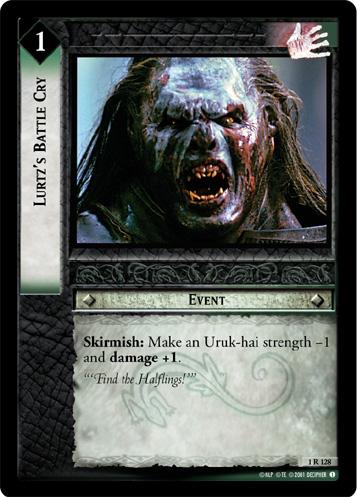 LoTR TCG FoTR Fellowship Of The Ring Troop of Uruk-Hai 1R143