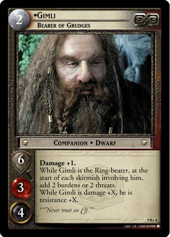 Reflections Lord of the Rings TCG Mint//Near Mint LOTR: Durin III Dwarven Lord