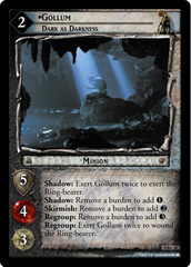 Gollum, Dark as Darkness - 9R+28 - Foil
