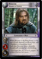 Boromir, Bearer of Council - 9R+31 - Foil