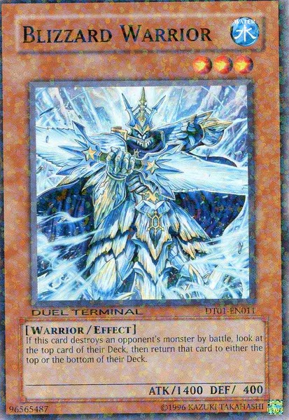 Blizzard Warrior - DT01-EN011 - Parallel Rare - Duel Terminal