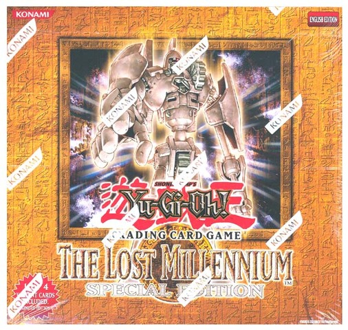 Yu-Gi-Oh The Lost Millennium Special Edition Box
