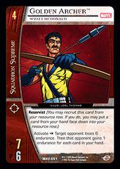 Golden Archer, Wyatt McDonald