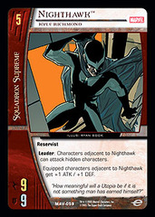 Nighthawk, Kyle Richmond