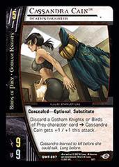 Cassandra Cain, Death's Daughter