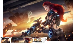 HCD Cyborg Uprising Playmat
