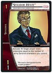 Senator Kelly, Anti-Mutant Advocate