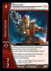 Baltag, Hand of the Conqueror