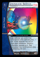 Prismatic Shield, Construct