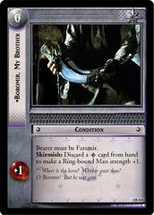 Boromir, My Brother