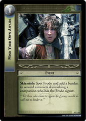 LOTR TCG Ranger/'s Sword Blade of Aragorn 4U132 The Two Towers NM FOIL