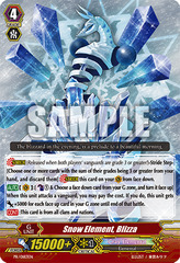 Snow Element, Blizza - PR/0183EN - PR