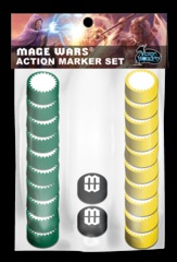 Mage Wars Action Markers Set