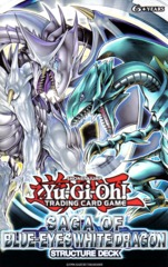 Saga of Blue-Eyes White Dragon 1st Edition Structure Deck
