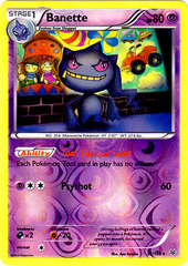 Banette - 31/108 - Rare - Reverse Holo on Channel Fireball