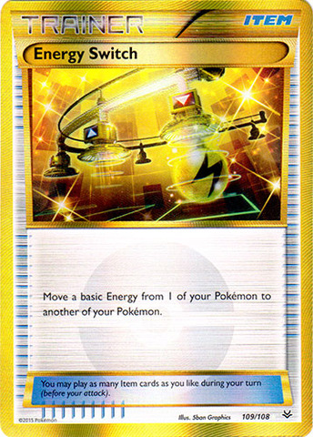 Energy Switch - 109/108 - Secret Rare