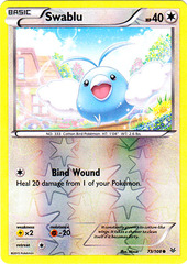 Swablu - 73/108 - Common - Reverse Holo