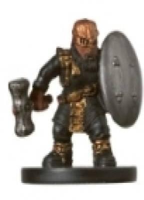 Gold Dwarf Soldier
