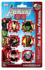 Avengers Assemble Dice and Token Pack - Iron Man