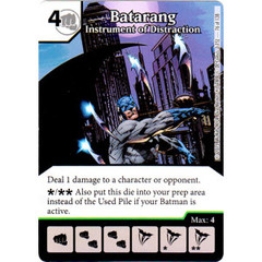 Batarang - Instrument of Distraction (Die & Card Combo Combo)