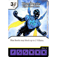 Blue Beetle - High School Hero (Die & Card Combo Combo)