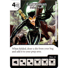 Catwoman - Selina Kyle (Die & Card Combo Combo)