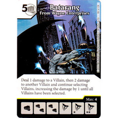 Batarang - From Wayne Enterprises (Card Only)