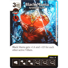 Black Manta - Artificial Gills (Card Only)
