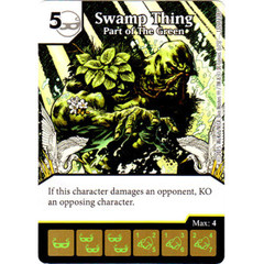 Swamp Thing - Part of the Green (Card Only)