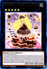 Madolche Puddingcess Chocolat-a-la-Mode - CROS-EN051 - Ultra Rare - 1st Edition