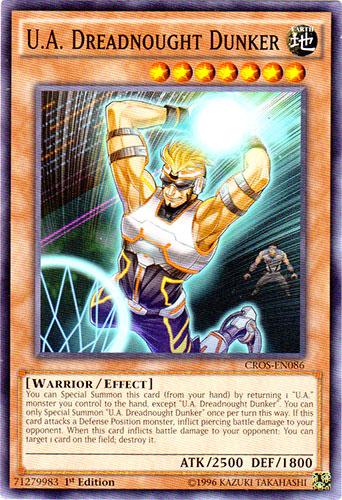 U New Designer Frightfur CROS-EN069 Common Yu-Gi-Oh Card