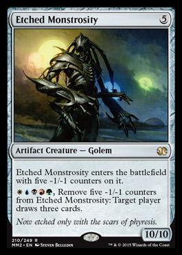 Etched Monstrosity - Foil