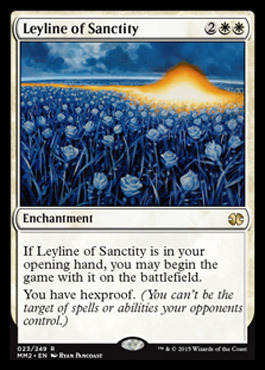 Leyline of Sanctity - Foil