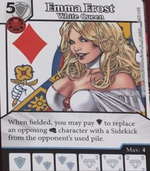 Emma Frost: White Queen - Marvel Dice Masters Promo