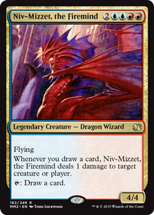 the Firemind From the Vault Dragons engl 1x Niv-Mizzet NM Magic