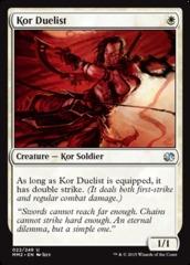 Kor Duelist - Foil