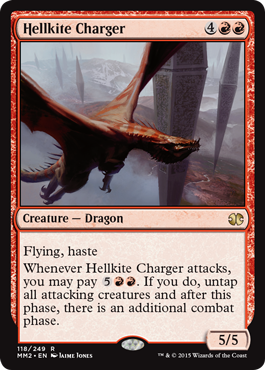 Hellkite Charger - Foil
