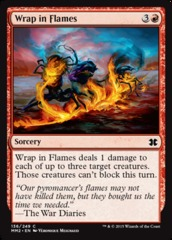 Wrap in Flames - Foil