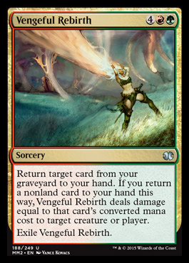 Vengeful Rebirth - Foil