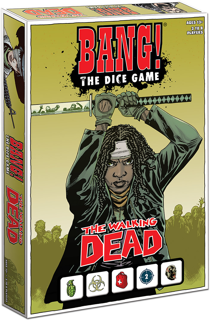 Bang!: The Walking Dead Dice Game