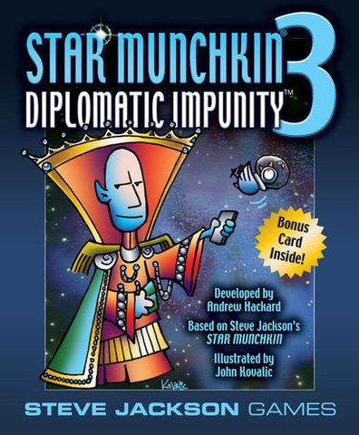 Star Munchkin 3: Diplomatic Impunity