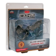 Attack Wing: Dungeons and Dragons - Premium Silver Dragon